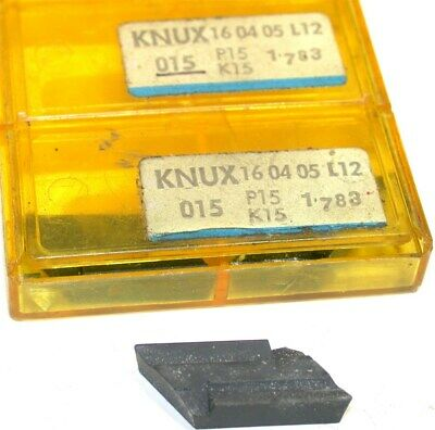Lot Of 3 New Sandvik Indexable Turning Carbide Inserts Knux 16 04 05 L12 P15