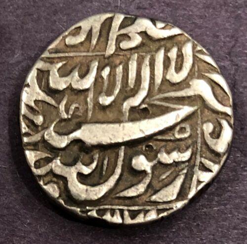 India - Mughal, Shah Jahan, Rupee, KM# 235.7, Bhakkar, Year 31, XF, 11.36g