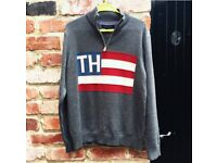 Tommy Hilfiger 1/4 zip sweatshirt Grey