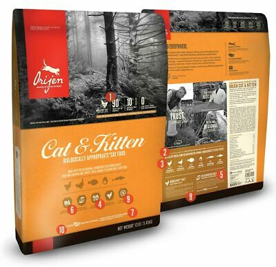 Orijen Cat and Kitten Food 1.8 kg