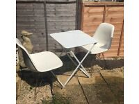 White garden patio table and chairs ikea