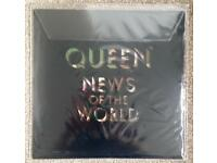 Queen - 'News Of The World' Rare 180g Vinyl Picture Disc (1420 of 1977)
