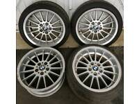 "18"" Genuine BMW Style 32 Wheels - E39 5 Series Staggered 8J and 9J fitment"