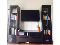 TV Stand, Table, Media and Bookshelf