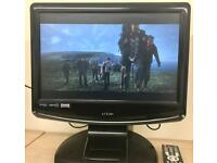 """Logik 17"""" LCD TV/DVD With Freeview & iPod Dock"""