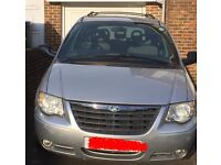 Chrysler Voyager Automatic Silver 7 Seats Full Leather 2006 2.8CRD 133,000 Miles