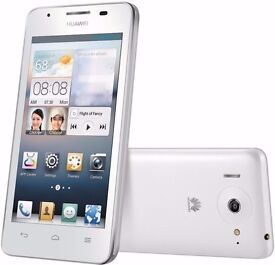 Huawei Ascend Y300 smart phone - white