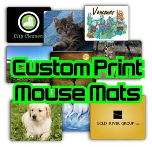 Mouse Pad Personalized Photo Custom Printed Mouse Pad Home and Office free shipping