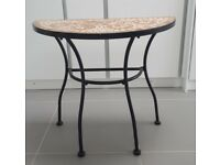 Mosaic garden table for sale