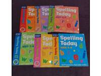 Spelling today books