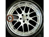 "19"" Audi split rim alloys, excellent condition, almost new tyres."