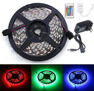 5M RGB 5050 SMD 300 LED Flexible ...