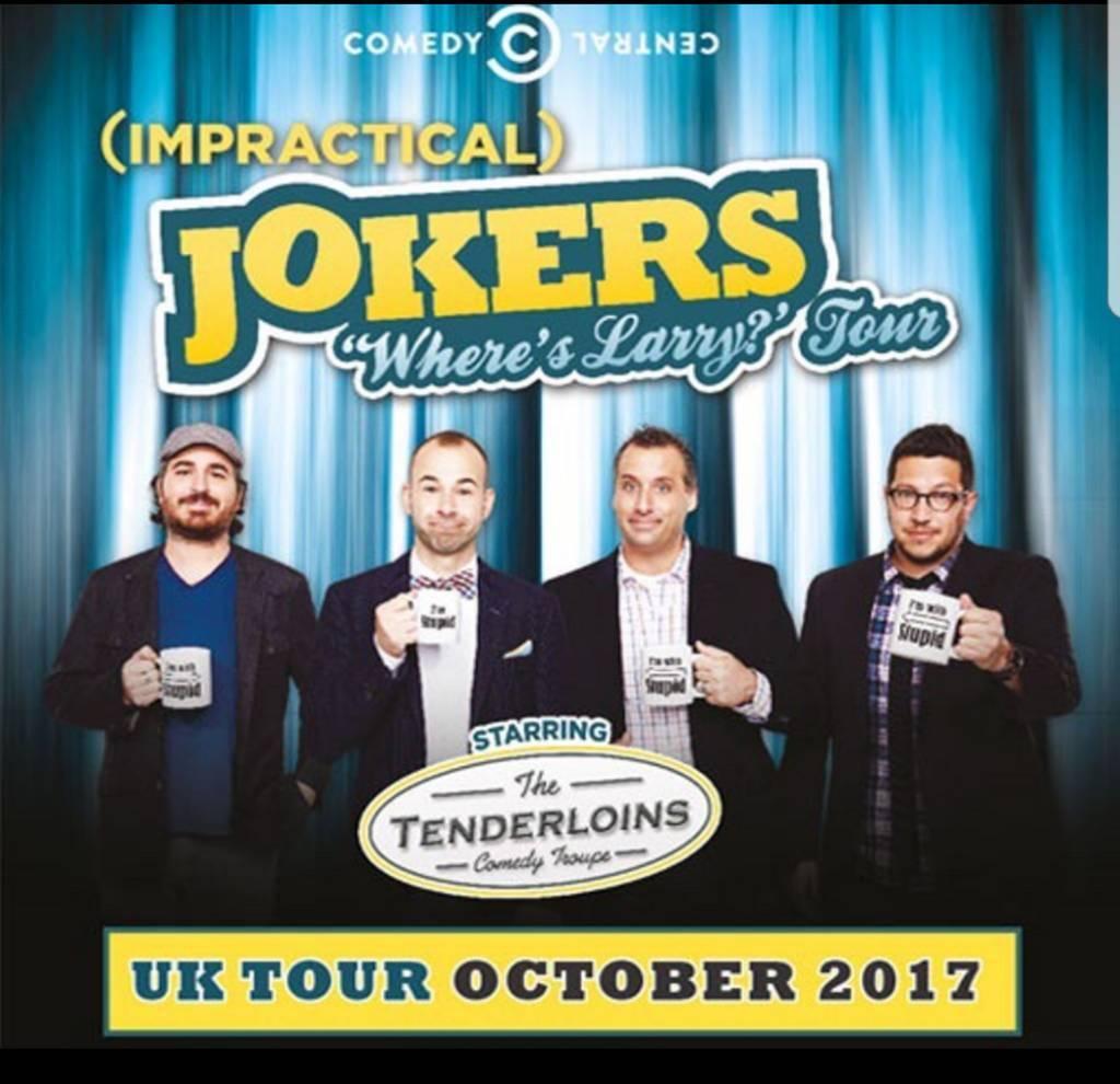 Impractical jokers tour dates in Australia