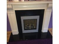 Gazco Riva2 530/670 Inset Convector Fire along with 9 metres of flexi liner