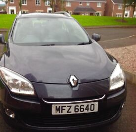2013 Renault Megane Expression Plus DCI Estate 1.5 Diesel. Immaclute condition inside and out
