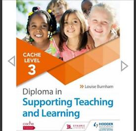 Supporting Teaching and Learning Level3