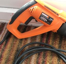 NEW HAMMER DRILL, WORX WK338 CORDED WITH POWERFUL 650 WATT MOTOR, BARGAIN £60, CAN POST