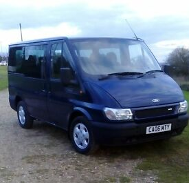 06 Ford Transit Tourneo GLX, In great condition Ex Council bus £3995 No VAT
