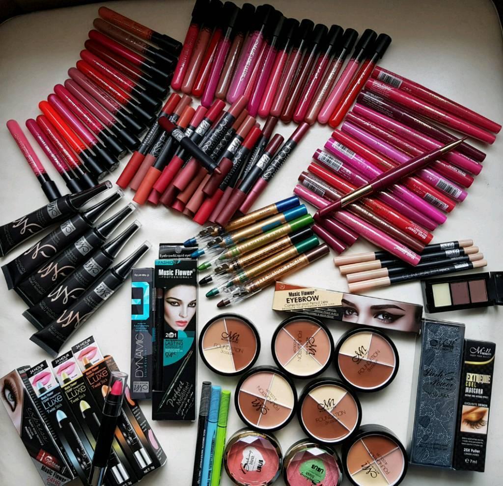 Job Lot Makeup Cosmetics Bundle 100 Pcs Brand New Birthday Gift