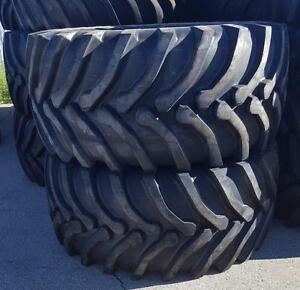 NEW AG TIRES 18.4-38 / 20.8-38 / 23.1-30 / 460/85R38 / 520/85R38 / 520/85R42 FARM TRACTOR COMBINE