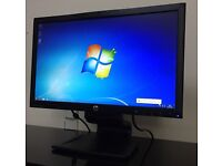 "22"" Full HD (1920x1080) Display HP LA2206xc Monitor for PC Gaming Office Built-IN WebCam"