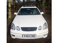 AUTOMATIC WHITE (RARE) LEXUS GS300 SE 3.0 220 BHP MOT 05.17 15 YEARS OWNED MINT CONDITION & DRIVE
