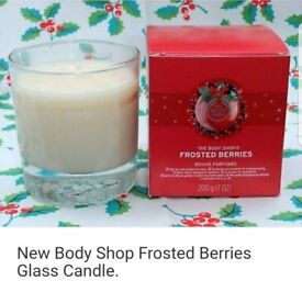 The Body Shop Candle Frosted Berries 200g
