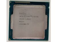 Intel® Core™ i7-4770S @3.1GHz Quad-Core CPU 4th Gen. Socket 1150 Processor