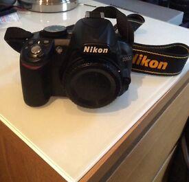 Nikon D3100 14.2MP Digital SLR Camera - Black (18-55mm VR KIT)
