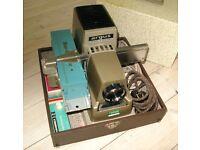 "Hanimex ""Argus"" Slide Projector, Vintage, Collectible in Original Box."
