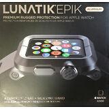 LUNATIK EPIK-007 Black Aluminum Case & Black Silicone Band for Apple Watch 42mm
