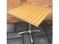 PollyWood Garden Tables, 3 Available, New / Unused