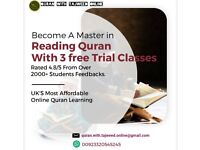 Online Quran learning Classes with First 3 free Trial Classes