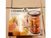 Kenwood chef/major. Glass liquidiser 1.5 liter