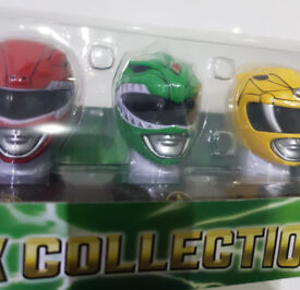 RARE - Power Rangers Legacy Mask Collection (6 original legacy masks / helmets boxed unopened)