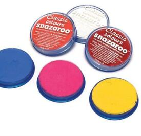 Snazaroo facepaint 18ml pallets