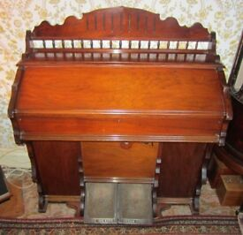 Late 19th Century Pedal Organ by The Hillier Organ Company
