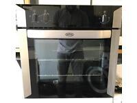 Belling fan assisted single oven BLACK