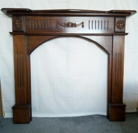 HANDMADE SOLID FIRE SURROUND
