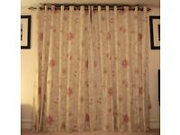 "Quality lounge curtains (71""x80"")"