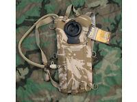 NEW - British Army Issue Desert Camouflage CAMELBAK Hydration Bladder