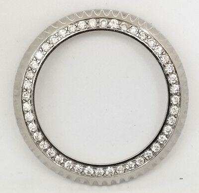 Rolex Submariner 16610 custom made top quality 2.5 carat genuine diamond bezel