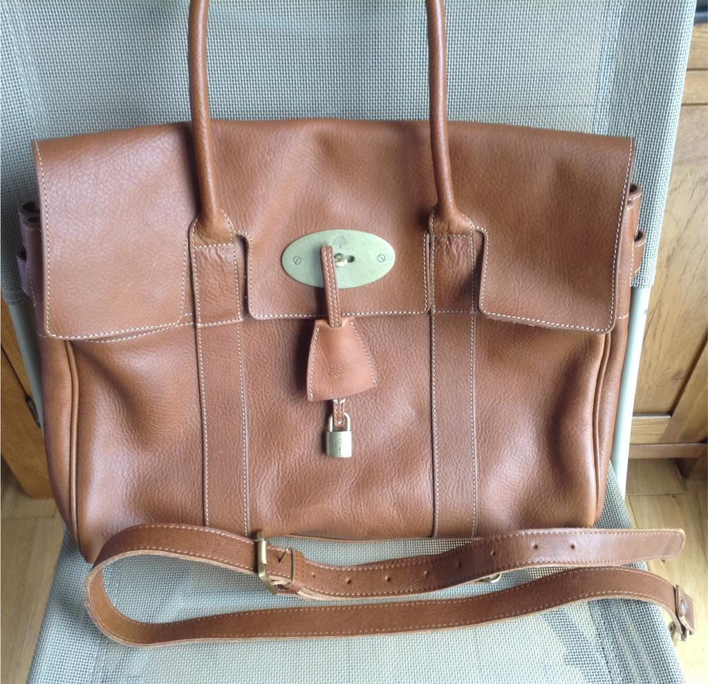 Genuine Mulberry Leather Handbag