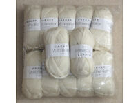 22 x 50g Balls Jaeger Chunky Machine Washable 100% Wool Knitting Yarn.