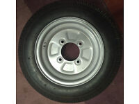 """Trailer Wheel with Tyre 10"""""""