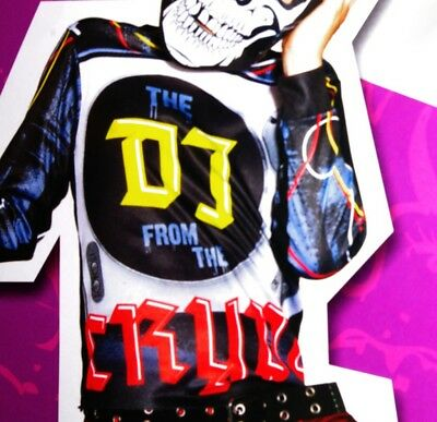 Boys DJ Crypt Halloween Costume Mix Spin Master Disc Jockey Music Purim S NEW - Halloween Jockey Costume