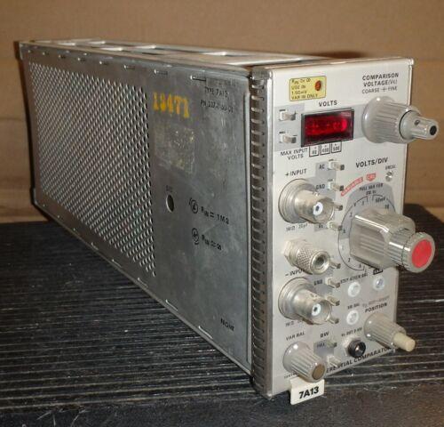 Tektronix Plug-in Module  7A13 Differential Comparator