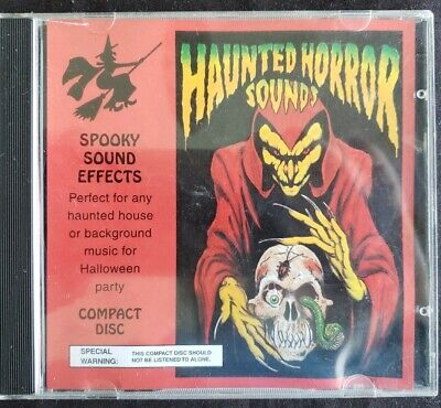 Halloween Background Sounds (Haunted Horror Sounds Background Music CD Halloween Party Haunted House)