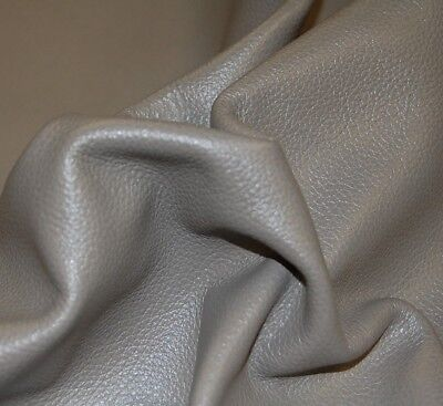 29 sf GRAY Upholstery Cow Hide Leather Skin Piece - Leather Skin Piece