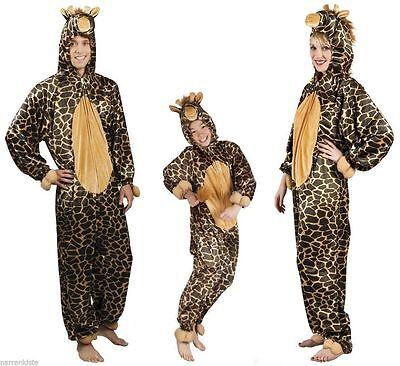 Giraffenkostüm Giraffe Giraffen Plüsch Kostüm Giraffenoverall Löwe Tiger - Plüsch Tiger Kostüm